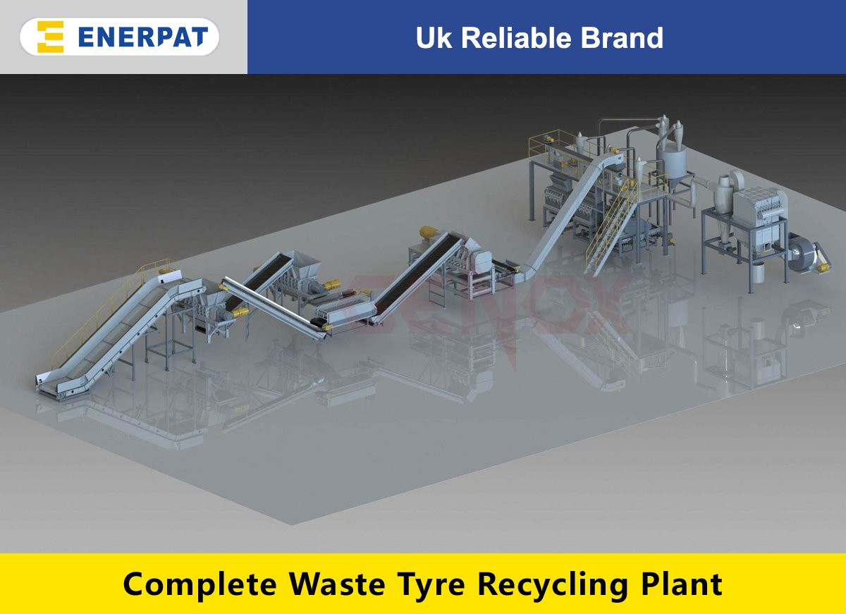 Waste Tyre Recycling Plant-Powder Plant(10-60 Mesh)