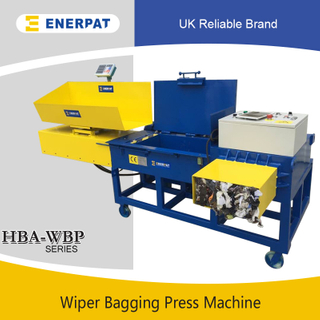 Wiper Bagging Press Machine