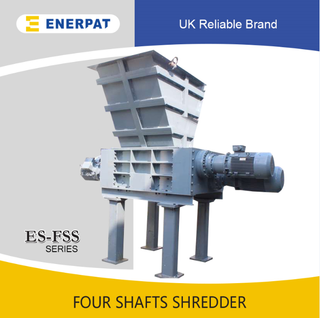 Four Shafts Shredder