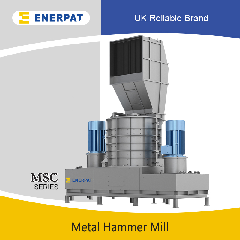 Vertical Scrap Metal Hammer Mill