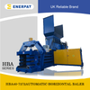 Small Fully Automatic Horizontal Baler HBA40-7272