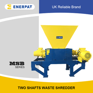 Commercial Two Shaft Shredder Supplier for Aluminum Extrusion