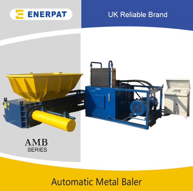 Universal Economic Aluminum Cans Metal Baler Machine for Sale