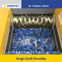 Commercial Plastic Drum Single Shaft Shredder Manufacturer (MSA-F1000)
