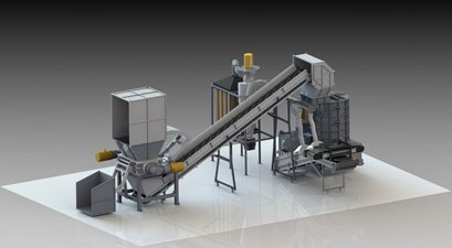 Waste Tyre Recycling Plant-Powder Plant(30-60 Mesh)