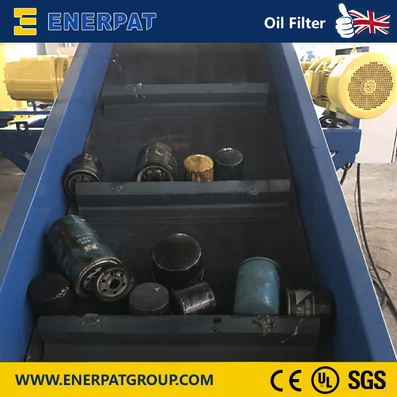 Oil Filter Shredder