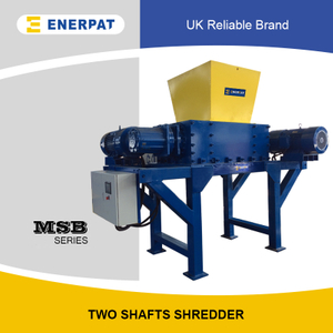 Economic High Quality Double Shaft Shredder for Plastic Drums
