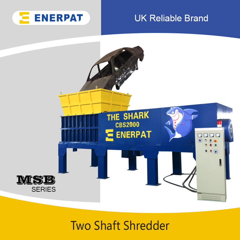 The Shark Scrap Car Shredder (MSB-E2400)