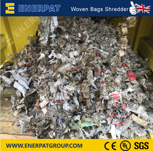 Industrial Two Shafts Shredder for woven bags