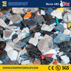 High Efficiency Single Shaft Shredder For Waste ABS