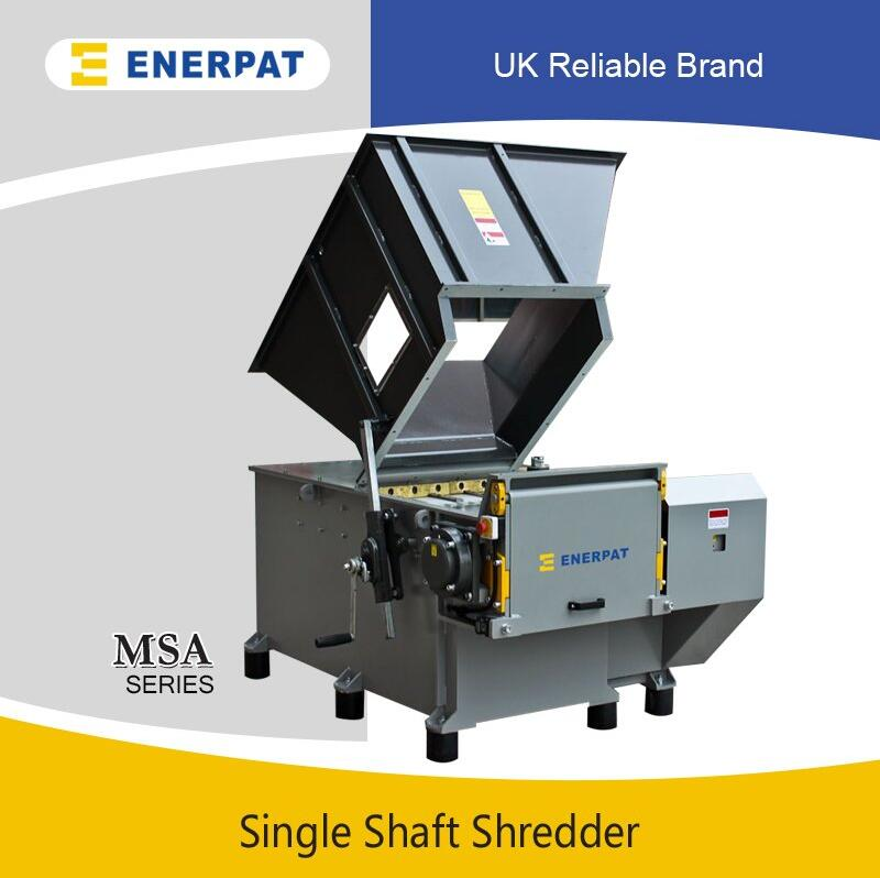 Universal Single Shaft Shredder for Wood Pallet