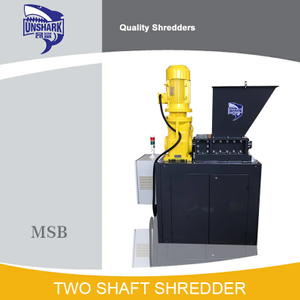 Commercial Economic Hard Disk Double Shaft Shredder Machine for Sale