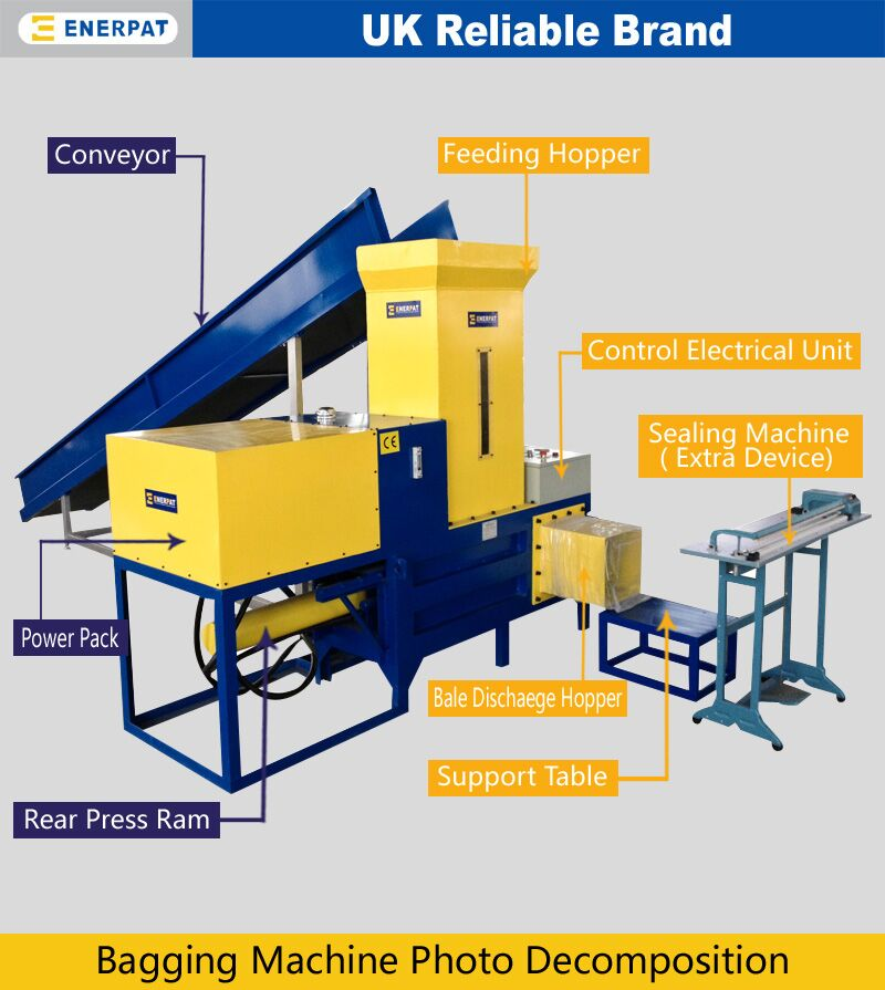 High Quality Straw Bagging Baler Machine Supplier for Sale