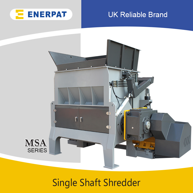 Universal Aluminum Cans Single Shaft Shredding Machine Supplier