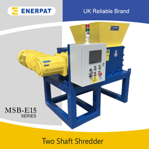 Quality Waste Two Shaft Shredder (MSB-E15)
