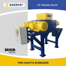 High Efficiency Copper tubes Double Shaft Shredder Supplier for Sale