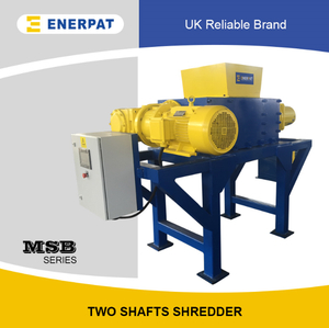 Universal Light Metals Two Shaft Shredder for Sale