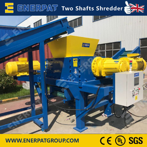 Commercial Used Tire Two Shaft Shredder for Sale