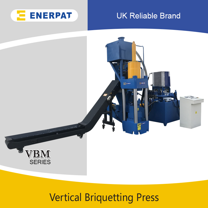 Vertical Aluminum Briquetting Press
