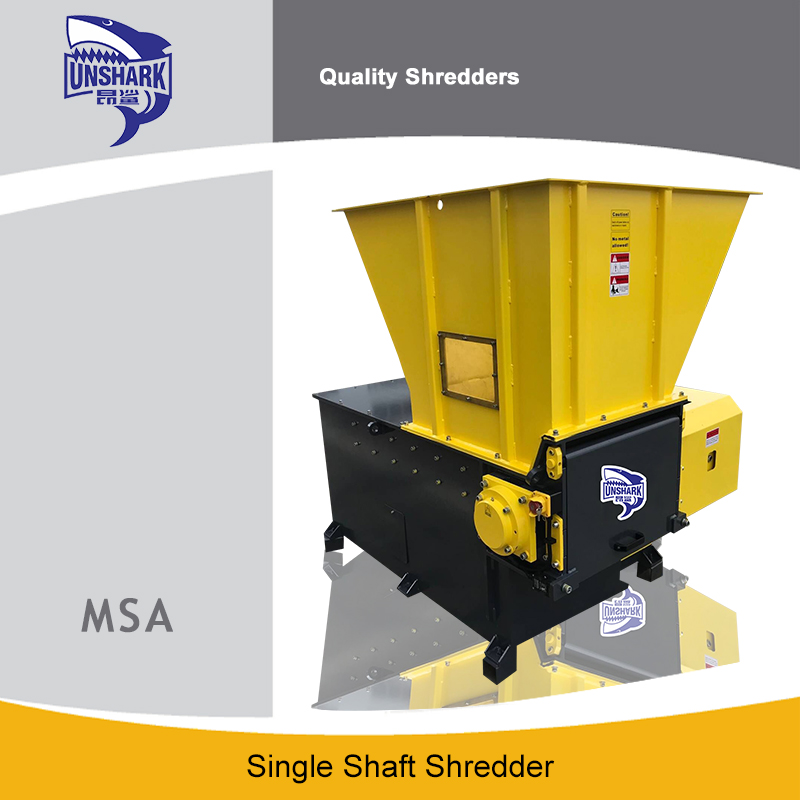 what must know single shaft shredder